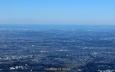 大山山頂から南東の展望