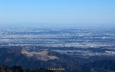 大山山頂から北東の展望
