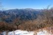 大山山頂から4、丹沢主稜