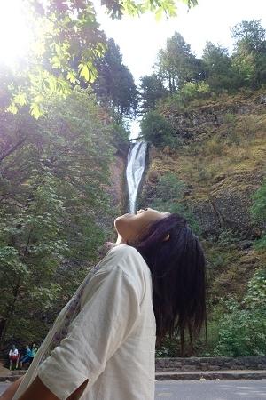 滝を食べる人