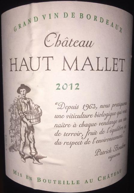 Chateau Haut Mallet 2012 part1