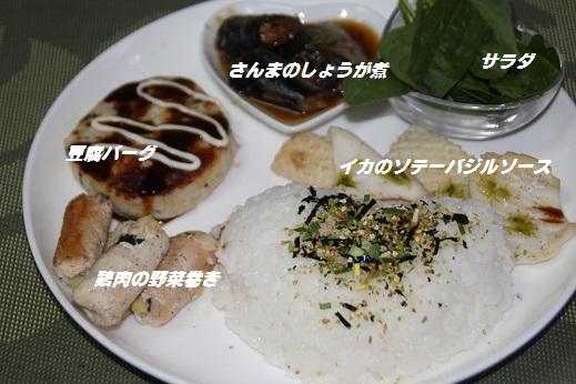 夕食 2015-8-14