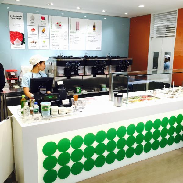 「ピンクベリー福岡天神店」は、日本では東京お台場、大濠公園に続き、直営店3店鋪目です。ピンクベリーは世界23カ国で、267店鋪を展開しています。