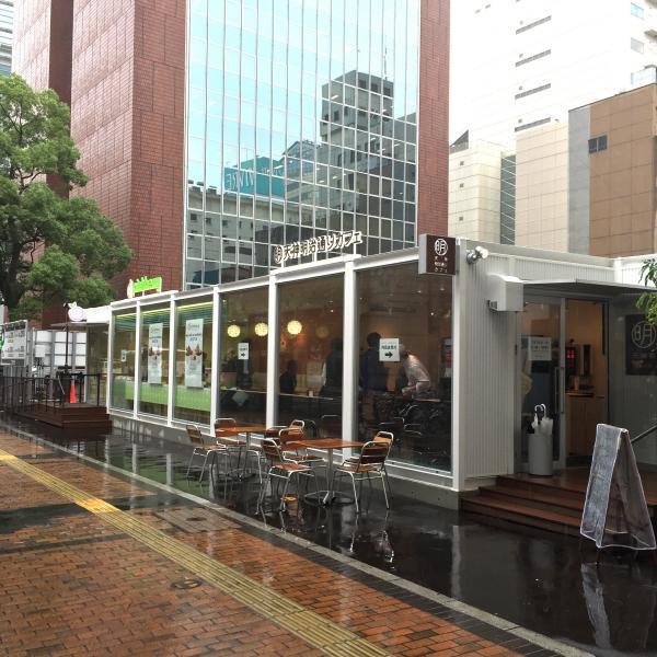 場所は天神セントラルプレイス跡地(福岡市中央区天神1-10-24)です。2店鋪が1つの建物の中に入っています。