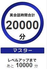 20000分