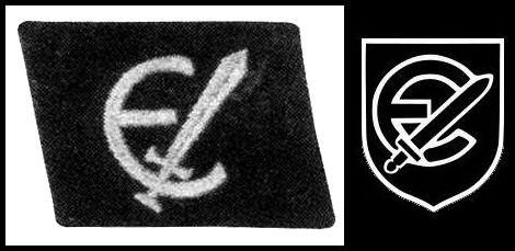 kragenspiegel_estnische SS_3rd. type & 20SS Divisional symbol