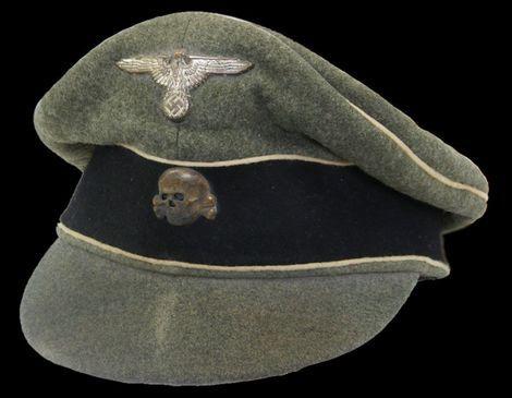 Feldmütze für SS-Unterführer