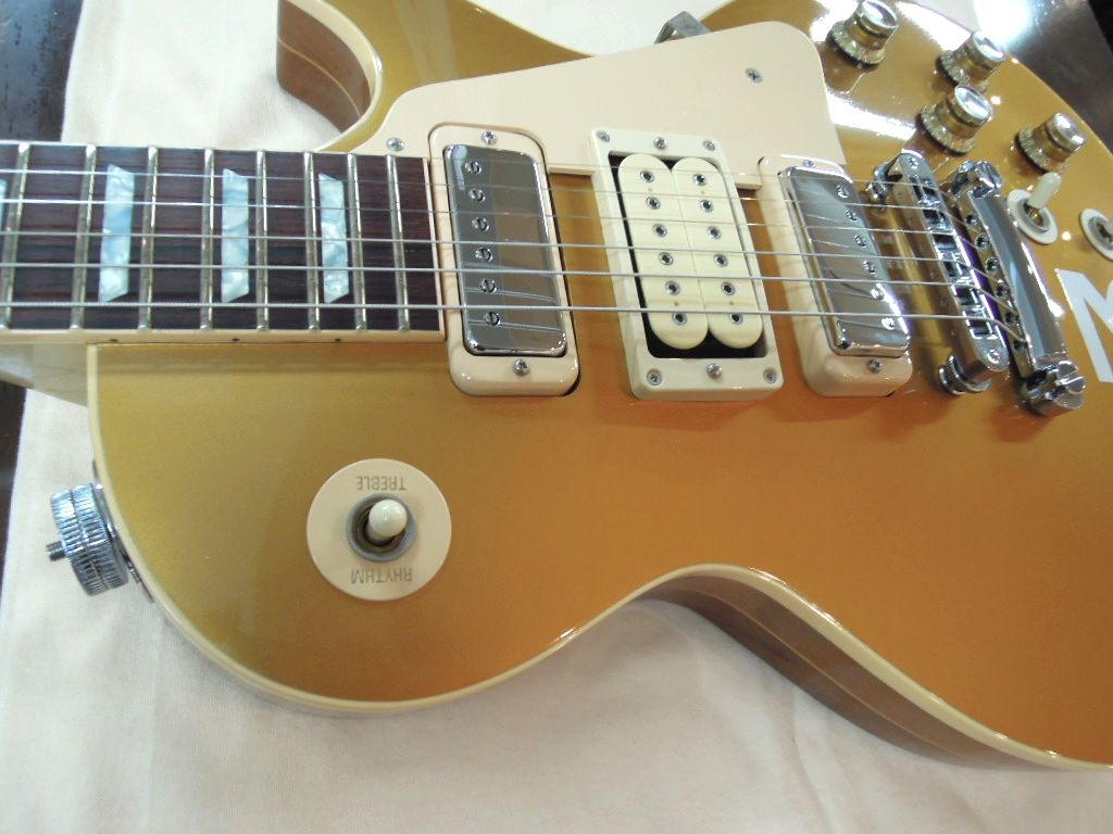 gibson custom pete townshend signature les paul deluxe 3 goldtop ebay. Black Bedroom Furniture Sets. Home Design Ideas