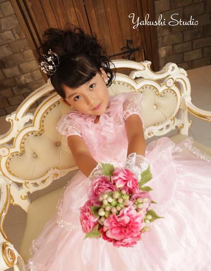 1508200442七五三 七歳 ドレス 写真