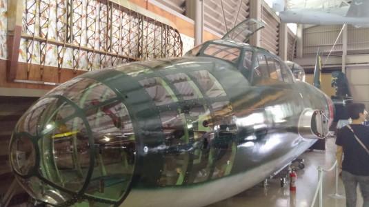河口湖飛行機館 一式陸上攻撃機