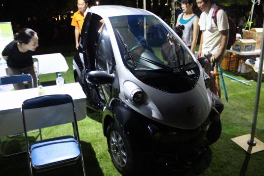 南アルプス山麓サマーフェスティバル 電気自動車