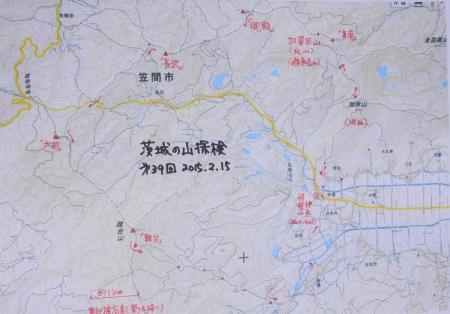 山探検マップ