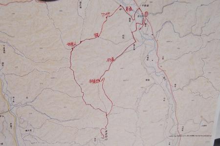 裏金砂山マップ