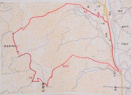 鷹取山マップ1