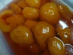 黄桃シロップ