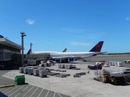 ハワイ2014.9ホノルル空港