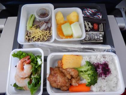 ハワイ2014.9デルタ航空ホノルル発成田行