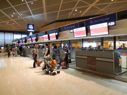 シンガポール2014.11成田空港出国
