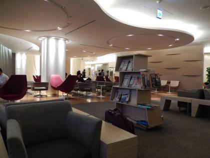 シンガポール2014.11成田空港大韓航空ラウンジ