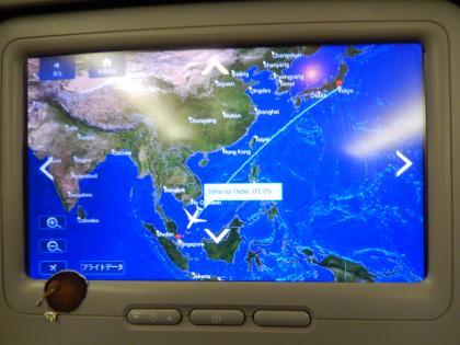 シンガポール2014.11デルタ航空シンガポール行