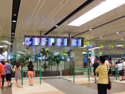 シンガポール2014.11チャンギエアポート
