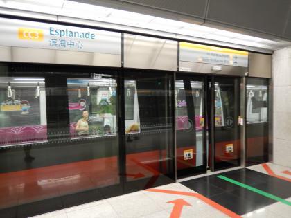 シンガポール2014.11地下鉄