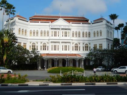 シンガポール2014.11ラッフルズホテル