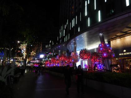 シンガポール2014.11オーチャードイルミネーション