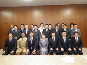 林文子横浜市長との記念撮影