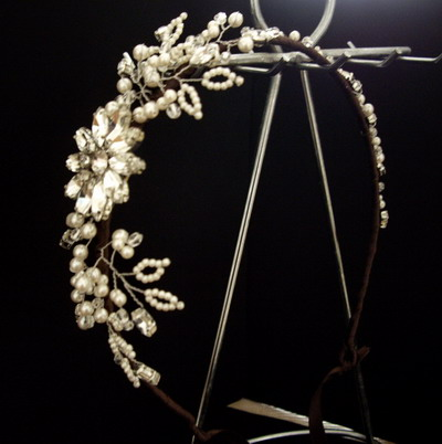 wedding head dress