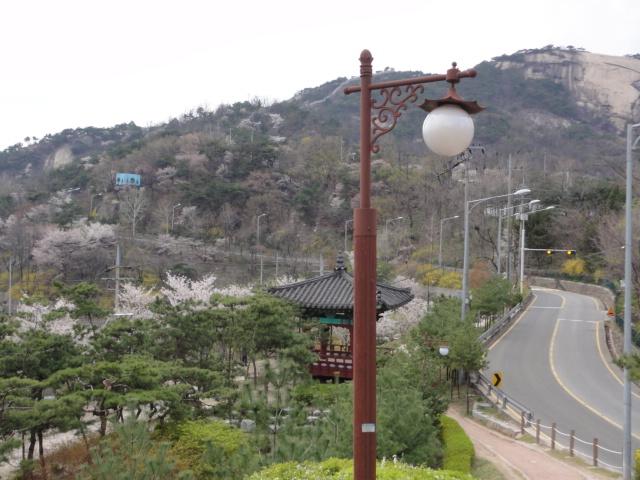 2013年4月26日 詩人の丘からの風景―西村方面