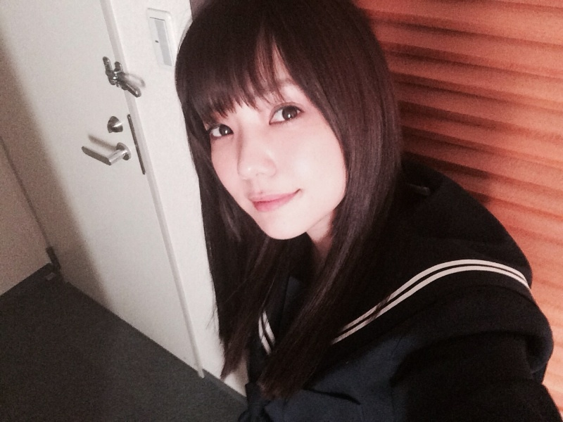 倉科カナ 芋セーラー服 女子中学生 芋セラ jc