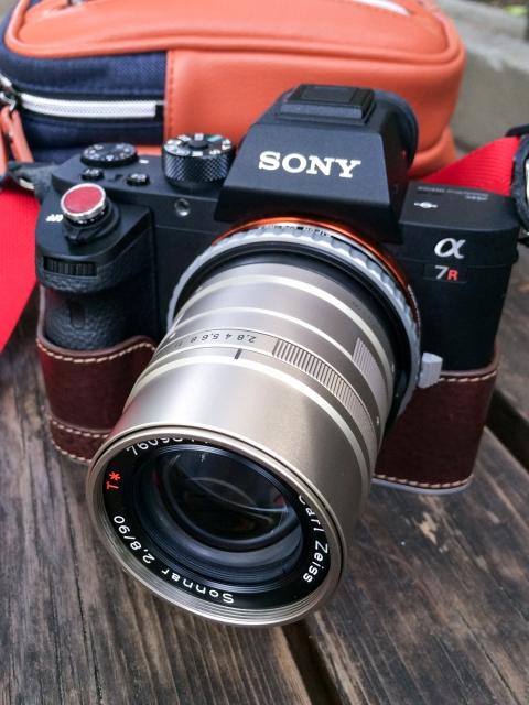 α7RⅡ + CONTAX G Sonnar 90mm F2.8