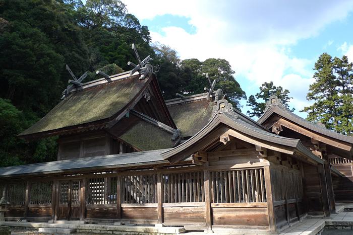 出雲の神社巡り  佐太神社  14
