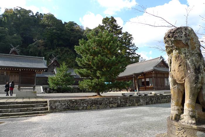 出雲の神社巡り  佐太神社  12