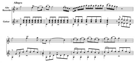 リコーダー&ギター~アンサンブルの楽しみ