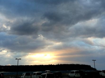ビッグの夕陽