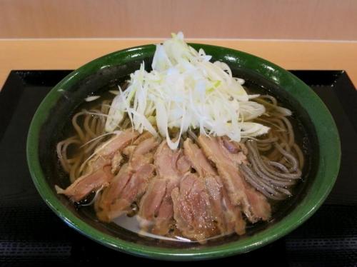 肉そば(冷)