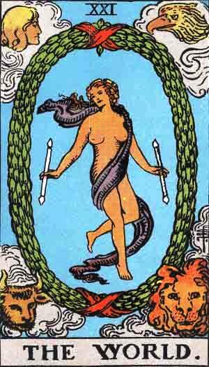 タロットカード世界 by占いとか魔術とか所蔵画像