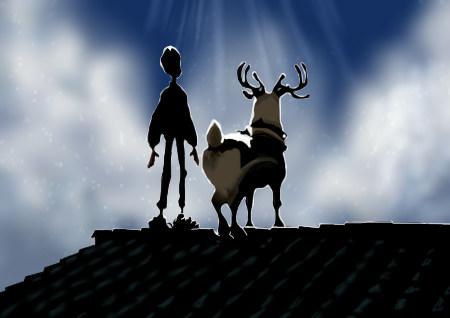 映画「アーサー・クリスマスの大冒険」観ました