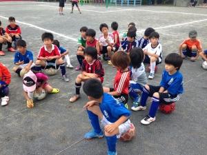 青葉FCバザー2014/@すすき野小学校・嶮山公園/横浜市青葉区/少年サッカー