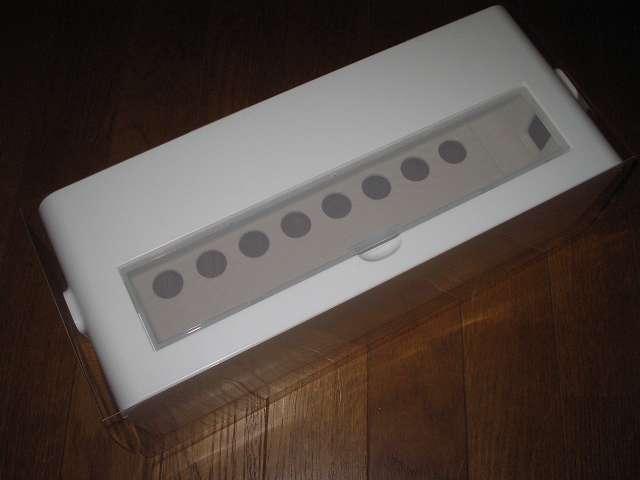 イノマタ化学 テーブルタップボックス L ホワイト 開封