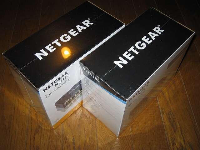NETGEAR GS108-400JPS(GS108v4) パッケージ開封前