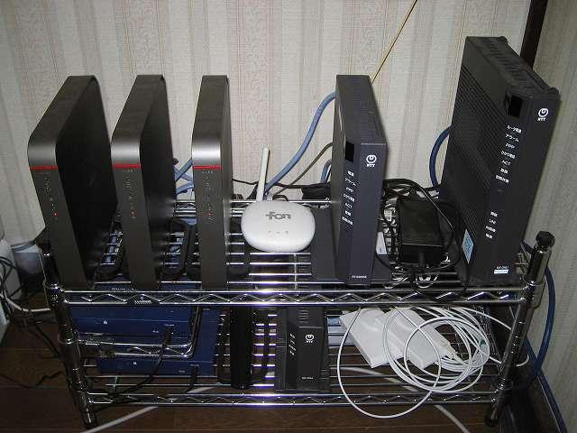 自宅内ネットワークの機器構成とケーブル配線図メモ