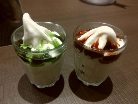 ゆず庵長岡店・H29 8 ソフトクリーム