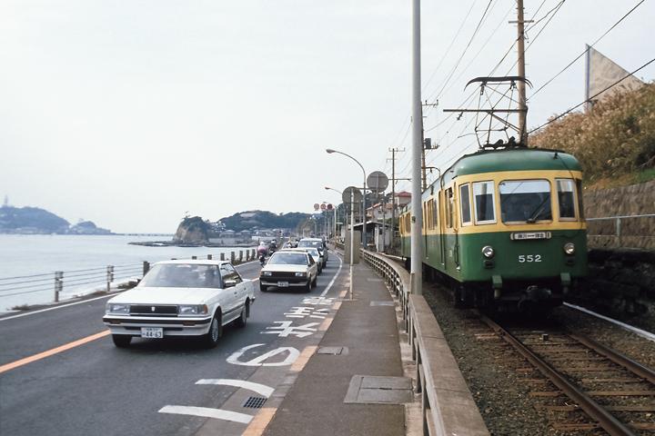 6211江ノ電_鎌倉高校前駅_502編成