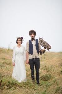 結婚式_画像_ペット_フクロウ