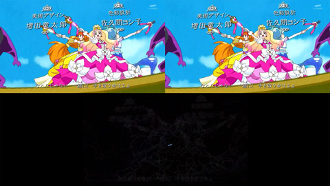 【Go!プリンセスプリキュア】OP比較[第26話・第27話]