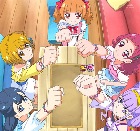 【HUGっと!プリキュア】第36話「フレフレ!伝説のプリキュア大集合!!」02