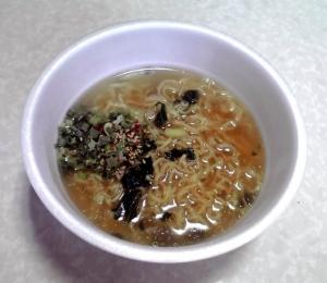 また食べたくなるラーメン 柚子香る塩味(できあがり)